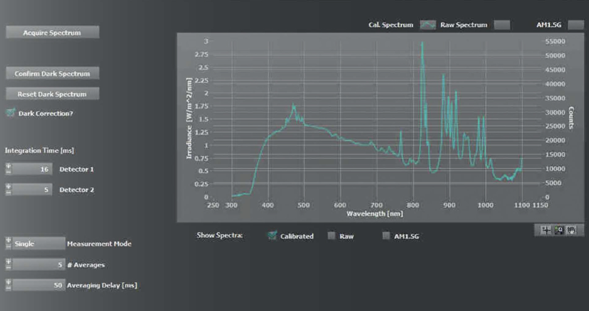 neonsee_solar-cell-analysis_software_irradiance-control